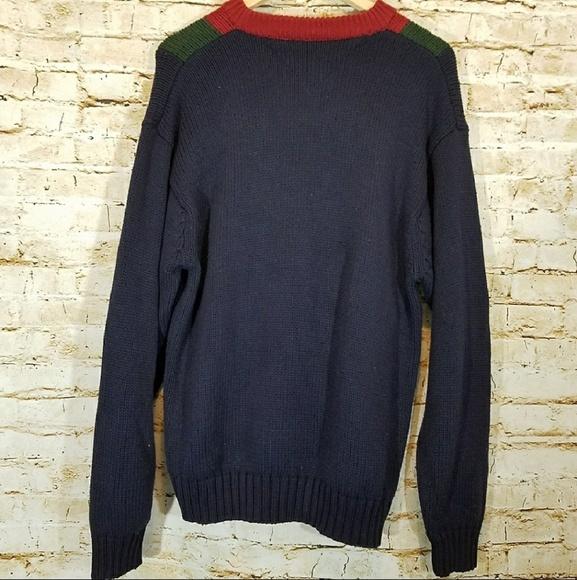 e625ee92bbca0a Vintage Tommy Hilfiger Color Block Knit Sweater. Tommy Hilfiger.  M_5b6b62ea04e33d086c9c44e0. M_5b6b630404e33d6e069c455d.  M_5b6b630f6a0bb7c4657a0326